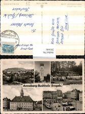 281646,Annaberg-Buchholz Totale Aussichtsturm Gaststätte Terrasse Marktplatz Rat