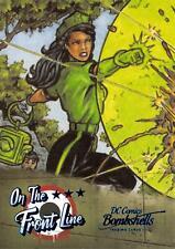 DC Comics Bombshells III (2019) ON THE FRONT LINE Insert Card FL7 GREEN LANTERN
