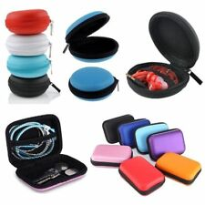 Portable Headphone Hard Case Pouch Storage Bag SD Card TF Earphone Earbuds C