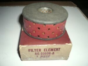 NOS FoMoCo  55..57 Ford T-Bird Power Steering Pump Filter Element AE-33538-A