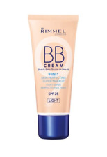 Rimmel London BB Cream Light 30ml 9 in 1 Skin Perfecting Makeup With Spf25