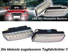 Universale LED Tagfahrleuchten R87 Modul E-Prüfzeichen E9 16SMD Tagfahrlicht