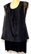 TS top TAKING SHAPE VIRTU plus sz XS / 14 Fusion Top party evening 2-in-1 NWT!