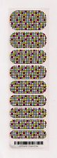 Authentic Jamberry Check It Out - Half Sheet Retired Rare