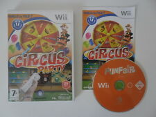 CIRCUS PARTY - NINTENDO WII - JEU WII COMPLET