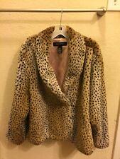 Lane Bryant Faux Fur Soft Cheetah Leopard Gorgeous Coat Women's Plus Size 18/20