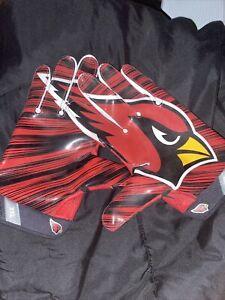 Larry Fitzgerald Arizona Cardinals Game Worn Gloves