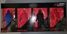 Hasbro Star Wars The Black Series 6 Inch Guardians of Evil 4 Pack Mint in Box