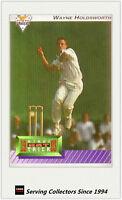 1993/94 Futera Cricket Trading Cards Wayne Holdsworth HAT TRICK Card--Rare!