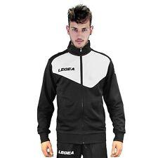 Giacca Pantalone Legea Messico Tornado Man Fashion Uomo Relax Allenamento Fitnes 1.giacca Extralarge Nero/bianco