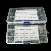 600pcs 15 Types Transistor TO-92 Assortment Kit Set For DIY Electronic Project