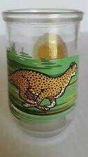 Welch's Endangered Species Collection Cheetah Glass World Wildlife Fund
