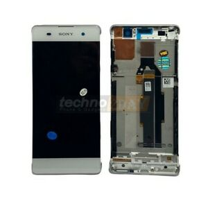 Genuine Sony Xperia XA (F3111, F3112) LCD Assy +Frame New White 78PA3100030