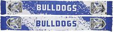 Canterbury Bankstown Bulldogs NRL Splash Jacquard Scarf!! BNWT's!