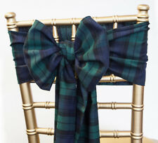 Christmas Tartan Black Watch Sashes /Table Runners/Napkins Festive Dinner Decor
