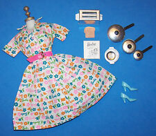 Vintage Barbie Learns to Cook #1634 Lunchtime #1673 Almost Complete 1965