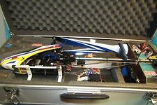 Align Trex 450  DFC plus RC helicopter in fantastic condition