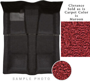 69-74 Country Squire Wagon Carpet Set Maroon 2 Pcs 80/20 Loop Clearance 4 Door