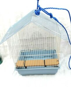 Prevue Pet Products 31600 Bird Home Great for all Small Birds White/Blue Cage