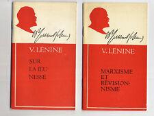 Lenine sur la jeunesse + marxisme et revisionnisme Novosti 1970