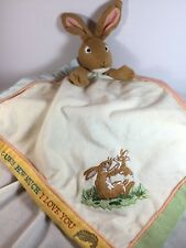 Bunny Security Blanket Baby Lovey - How Much I Love You Rabbit - McBratney 2010
