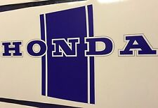 "Honda CT70 Trail-70 Frame/Body Decals ""Blue"" 1969-1979"