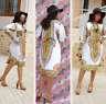 Summer Women  Dashiki Party Hippie Traditional Tribal Casual Short Mini Dresses