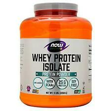 Now Whey Protein Isolate Unflavored 5 lbs