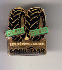 RARE PINS PIN'S .. AGRICULTURE TRACTEUR TRACTOR PNEU TYRE GOODYEAR FRANCE ~CD