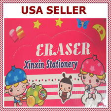 Hand Emoji Emoticon Eraser Pencil Toppers Caps Magic Cute Set (Free-Shipping)