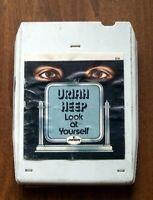 URIAH HEEP, 8 track tape. LOOK AT YOURSELF, 1971 Mercury Records, MC8-1-614