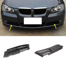 For BMW E90 318I 316I 320I 325I 330I 2005-2012 A Pair Front Fog Lamp ABS Grille
