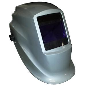 GR8+ Black - Auto Darkening Welding Helmet - CWS Brand 2 Year warranty on lens