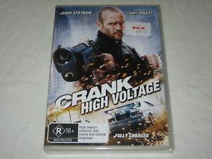 Crank - High Voltage - Brand New & Sealed - Region 4 - DVD