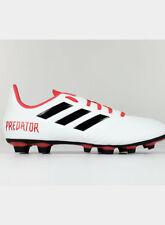 Adidas Predatore 18.4 terreno Compatto Uomo Scarpa da Calcio Bianco fredda UK 9