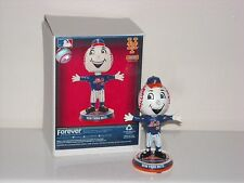 MR. MET New York Mets Mascot Bobble Head 2016 Mini Bighead Exclusive *IN STOCK*