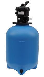 Sandfilterbehälter Bali 400  6-Wege-Ventil Filterbehälter Filterkessel
