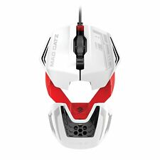 Mad Catz R.a.t. 1 Souris Filaire Gaming Blanc/rouge PC Windows 10/8/8.1/7 Neuf