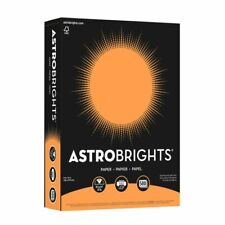 Neenah Astrobrights Bright Color Paper, Letter, 24 Lb, Cosmic Orange, 500-Sheets
