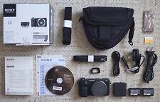 Sony NEX-6 Digitalkamera - Gehäuse - neuwertiger Zustand - großes Zubehörpaket