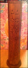 "12"" HARDWOOD INCENSE TOWER/BURNER ~ NAG CHAMPA ~ BURNS INCENSE STICKS AND CONES"