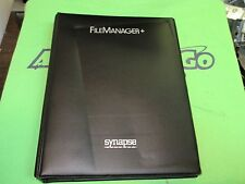 FILE MANAGER 800 by Synapse - Disk Based Filekeeping System for the Atari 800