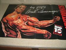 GIANT Mr Olympia Arnold Schwarzenegger/Cory Everson Bodybuilding Color Poster