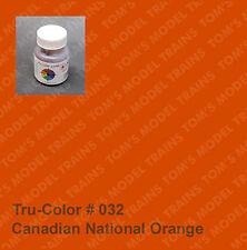 032 True Color Canadian National Orange