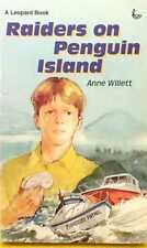 SIGNED COPY Raiders on Penguin Island by Anne Willett good used cond paperback