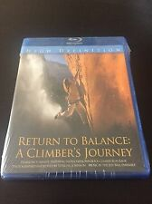 Return To Balance: A Climber's Journey Blu Ray Brand New Sealed