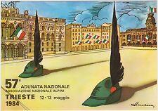 TRIESTE - 57° ADUNATA NAZIONALE ALPINI 1984 - KOLLMANN