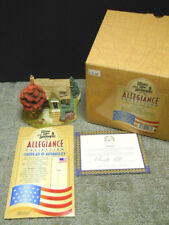 Lilliput Lane Landmarks Allegiance Collection Home Of the Brave L2076 Nib Deeds