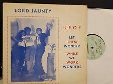 Lord Jaunty U.F.O.? reggae soca Lp