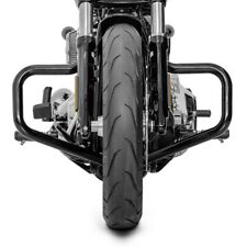 Engine Guard Mustache for Harley Softail Slim 18-20 black